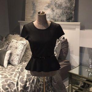 New York and Company peplum blouse